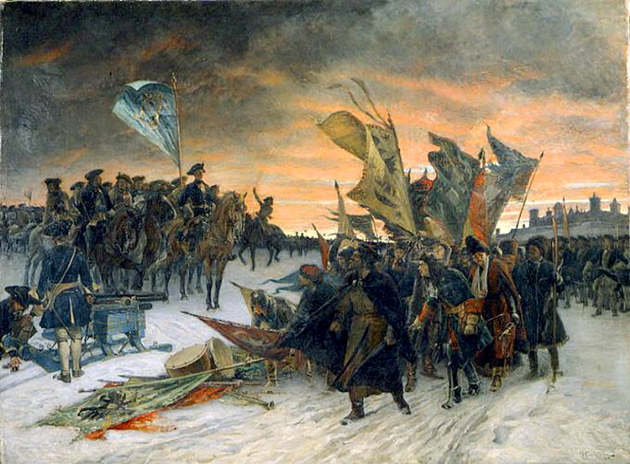 On 19 november 1700 was an early battle in the great northern war